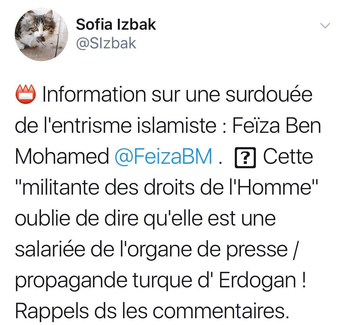 Feiza Ben Mohamed على تويتر Leurs Espoirs De Me Faire Virer Suite