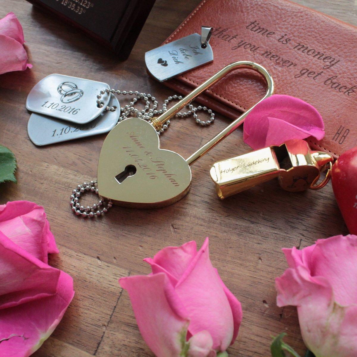 Valentine's Day is coming soon! Wir sind ready for some love.  😍 Sag es mit einer Gravur, denn diese hält für immer! Noch mehr Inspiration findest du hier: https://t.co/YlgHX9WeLk https://t.co/ZWamMmtvIG