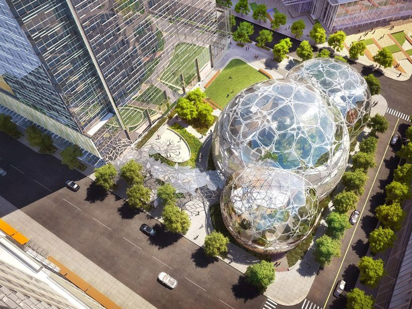 Future #Design: #plant-filled #Seattle #spheres open at