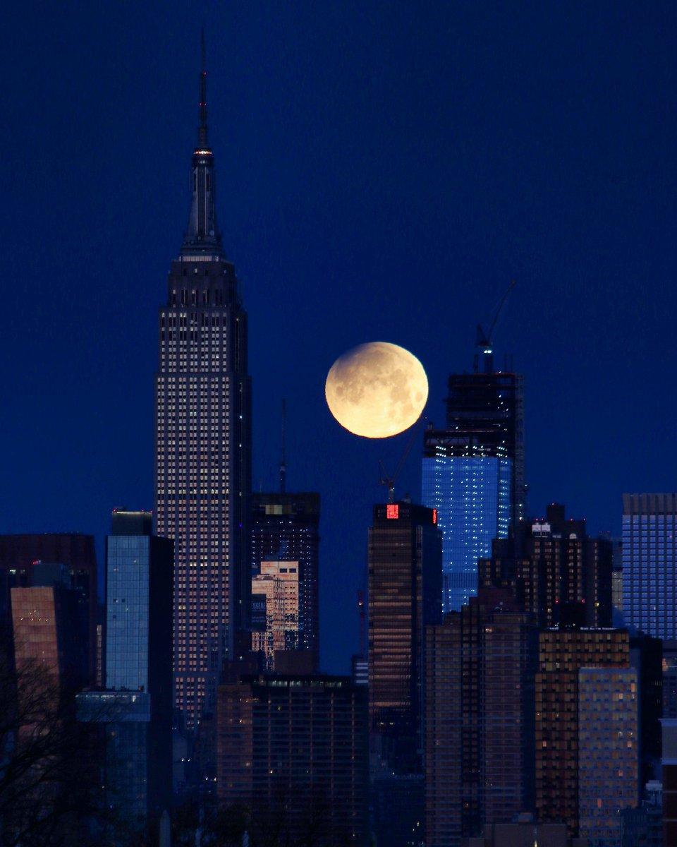 Gerhana bulan di New York