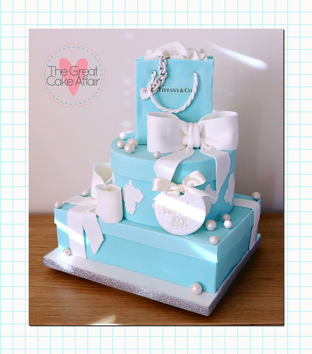 Swell Thegreat Cake Affair On Twitter Tiffany T Boxes 21St Funny Birthday Cards Online Fluifree Goldxyz