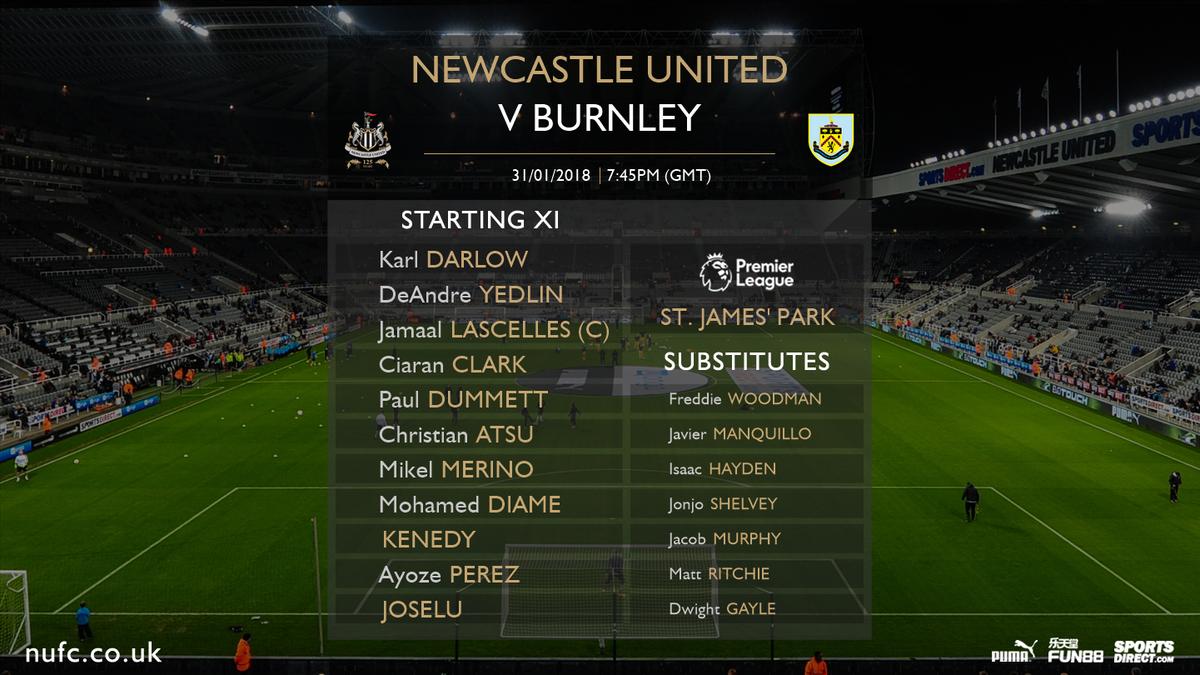 Newcastle - Burnley FC 1:1 DU43g0ZW4AEWvg1