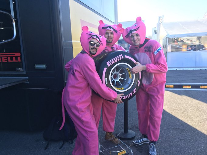 The Pink Panthers of F1