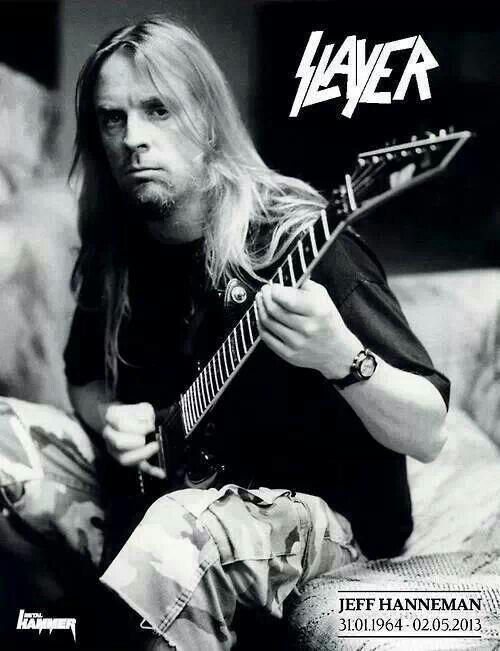 Happy Birthday to legendary thrash metal guitarist, Jeff Hanneman!