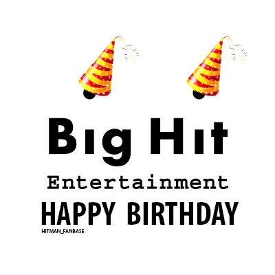 Hitman Bang Fanbase On Twitter Happy Birthday Big Hit