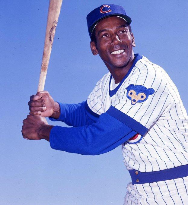 Happy birthday and to Mr. Cub, Ernie Banks.