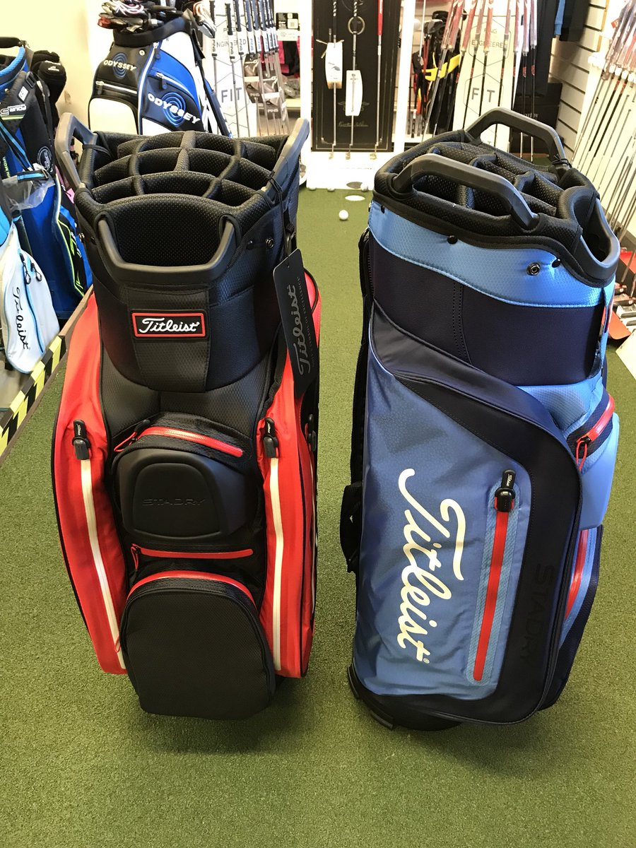 New 2018 Leist Cart And Carry Bags Arrived Today Sta Dry Lightweight Now In Stock Stadry Carrybag Cartbag Golfbag