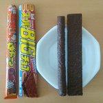 衝撃の事実w「日本一ながーいチョコ」は「スーパーBIGチョコ」に長さで負けてるw