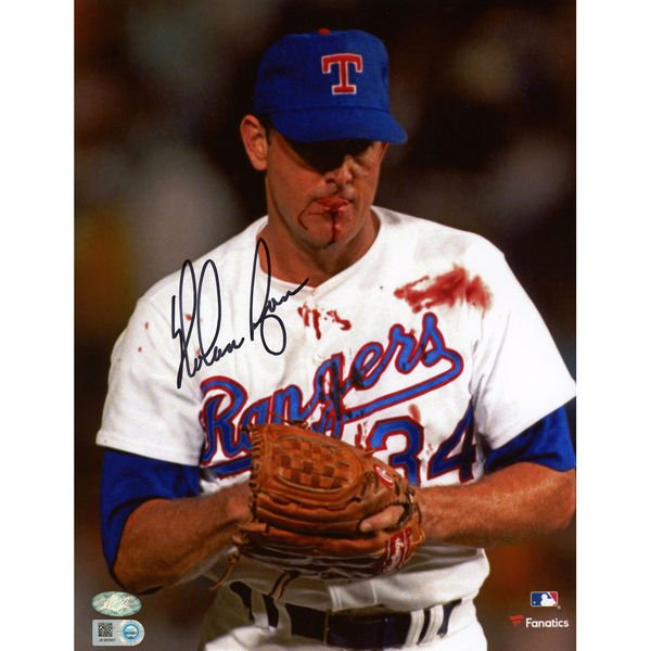The definition of GRIT: Nolan Ryan  Happy Birthday, The Ryan Express!