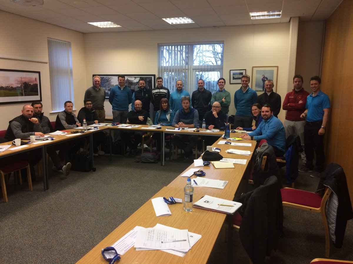 Professionals at the PGA Seminar - The Belfry - Jan 31st 2018