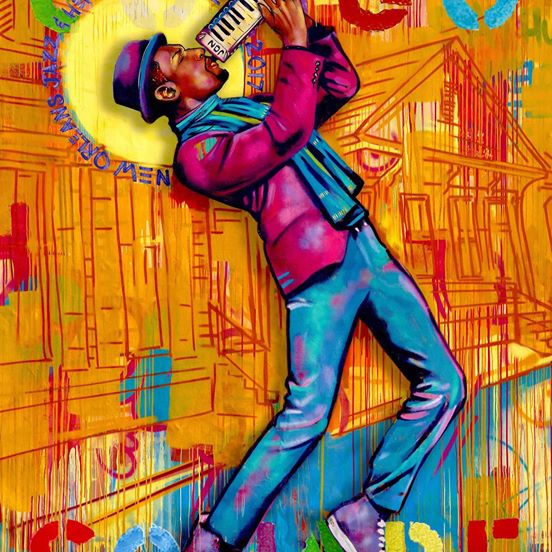d197a40e Art4now's Jazz Fest & Congo Square posters chronicle the American  soundtrack. Share in history with limited-edition collectible art as  inspired as the music ...