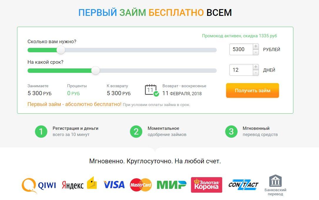 деньги на карту мгновенно круглосуточно без отказа украина