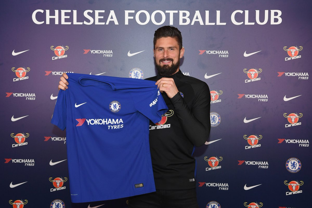 Chelsea Football Club has today completed the signing of Olivier Giroud from Arsenal.  Full story 👉 https://t.co/XDqSwzsZmO  #GiroudIsBlue