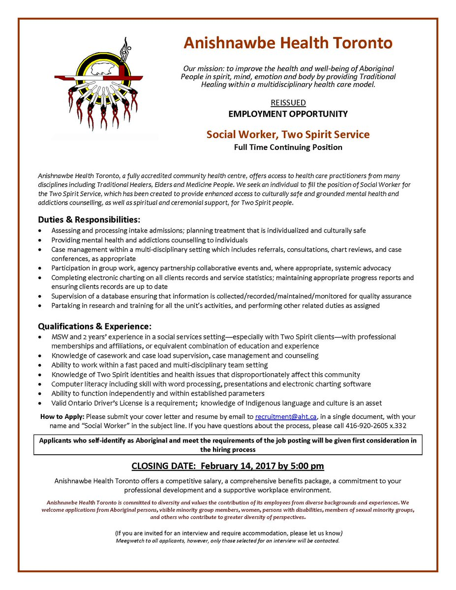 Anishnawbe Health on Twitter: \