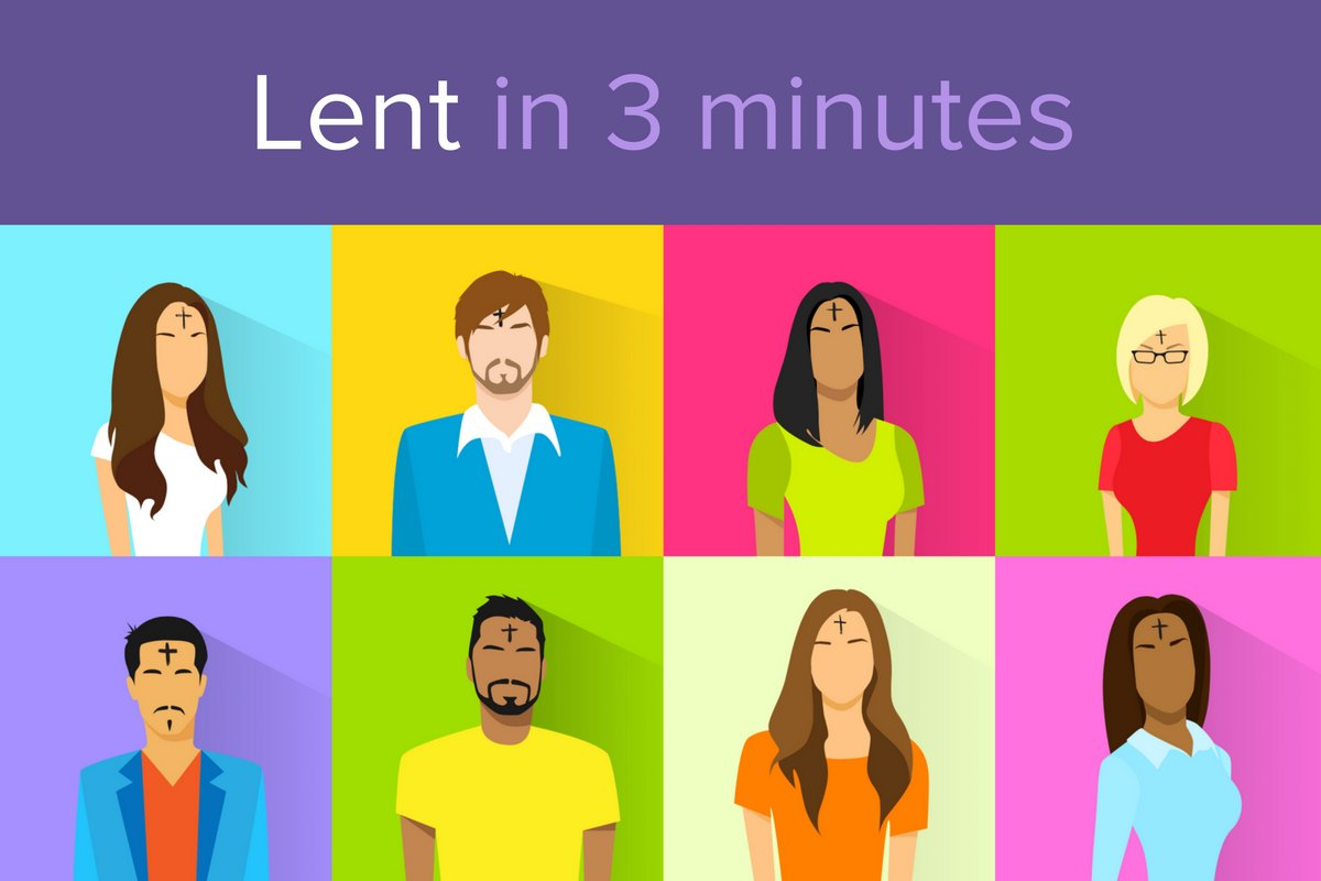 All you ever wanted to know about #Lent and #AshWednesday, in 3 minutes: bit.ly/2nuAx3o