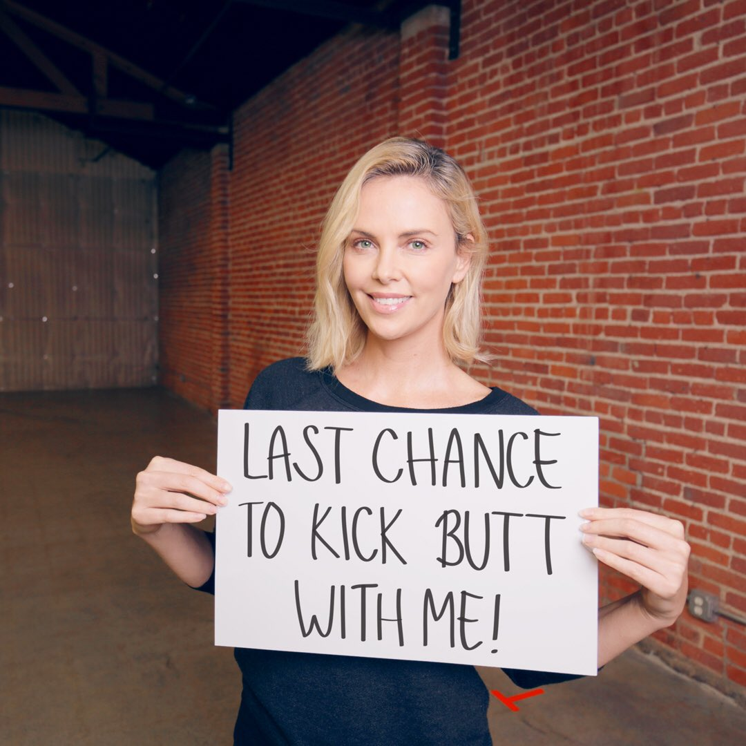 It's your LAST CHANCE to get your butt kicked by me in the gym! Enter today: bit.ly/2AxInO8
