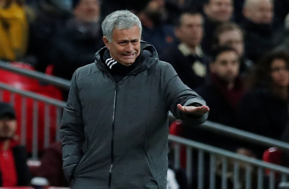 Jose Mourinho says Christian Eriksens goal after 11 seconds was ridiculous Heres what he made of Man Utds defeat at Wembley: bbc.in/2BIHH9g #TOTMNU