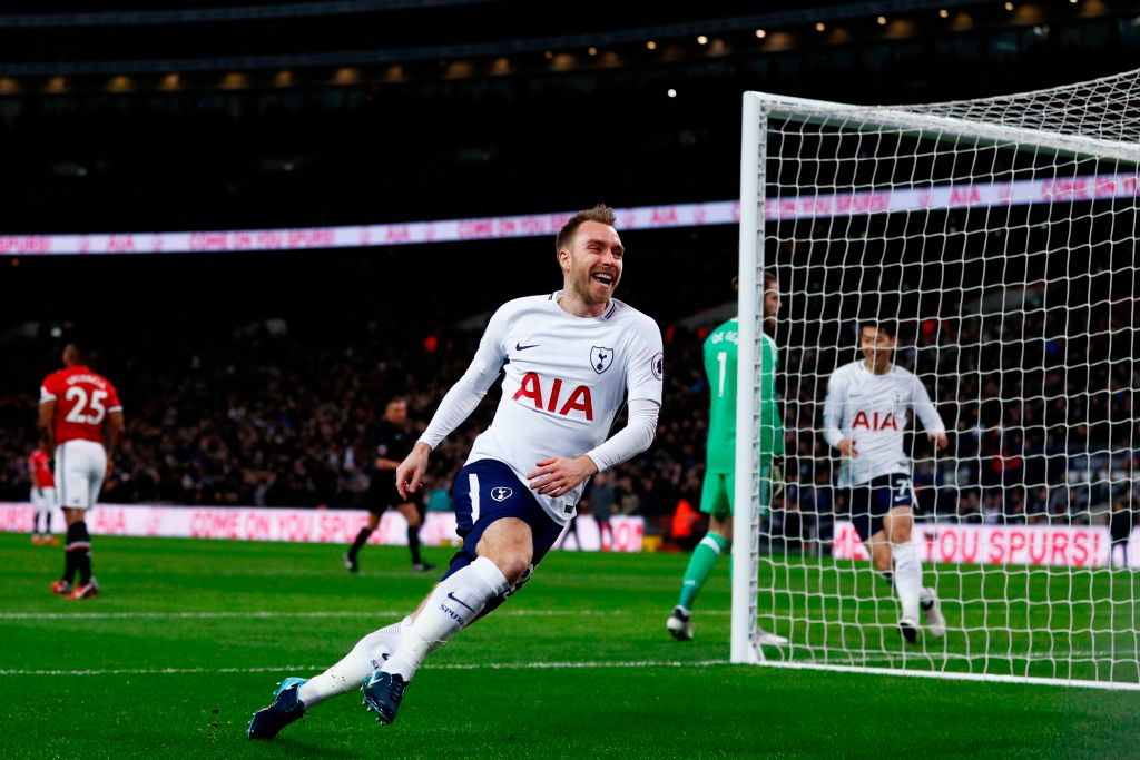 Hope no-one tuned in after 12 seconds of the Tottenham game... youll have missed Christian Eriksens goal! The fastest that Manchester United have conceded in the Premier League #THFC #TOTMUN #MOTD