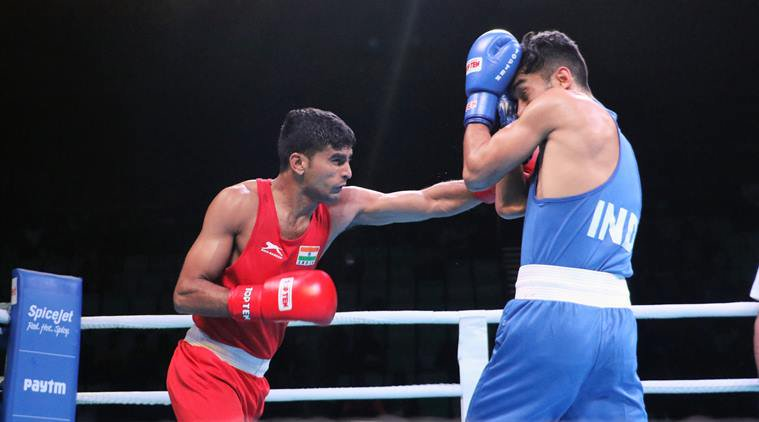 DU55k2JVAAEL2IT - Mary Kom clinches Gold in Indian Open Boxing Tournament
