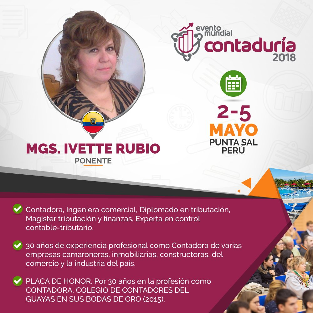eventomundialcontaduria hashtag on Twitter