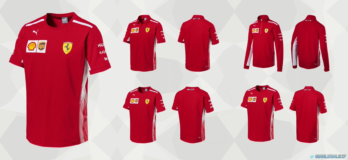 puma team scuderia sf official motorsport red shirt racing jacket soft products shell ferrari