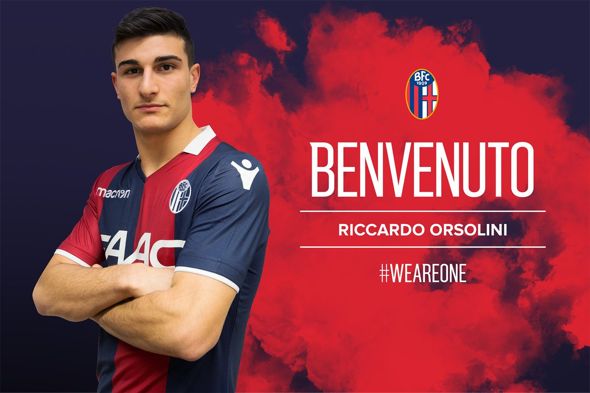 Riccardo #Orsolini al Bologna 🔝🔴🔵