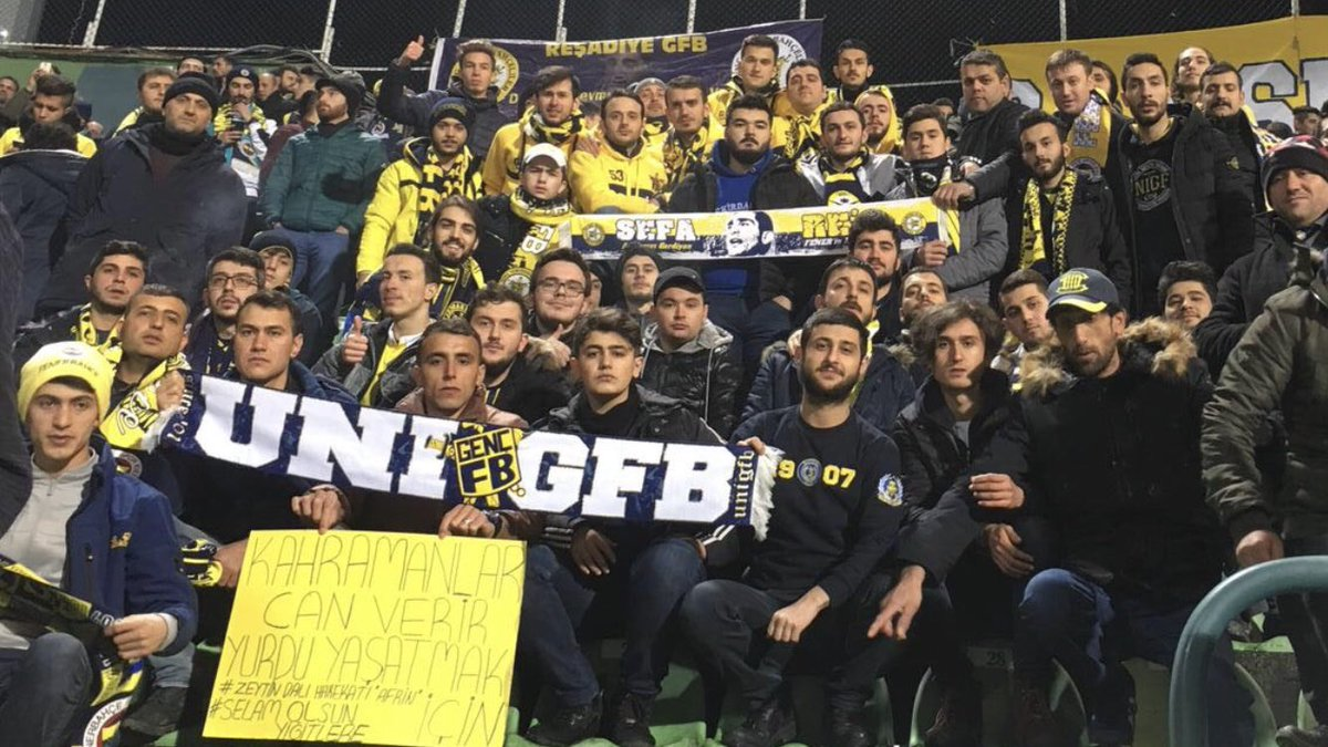 Fenerbahçe'mizi Akın Çorap Giresunspor k...