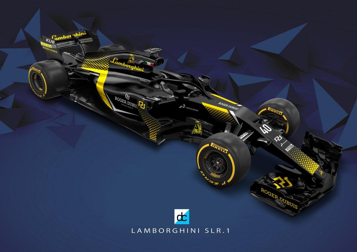 Daniel Crossman On Twitter Winning Lamborghini F1 Livery From