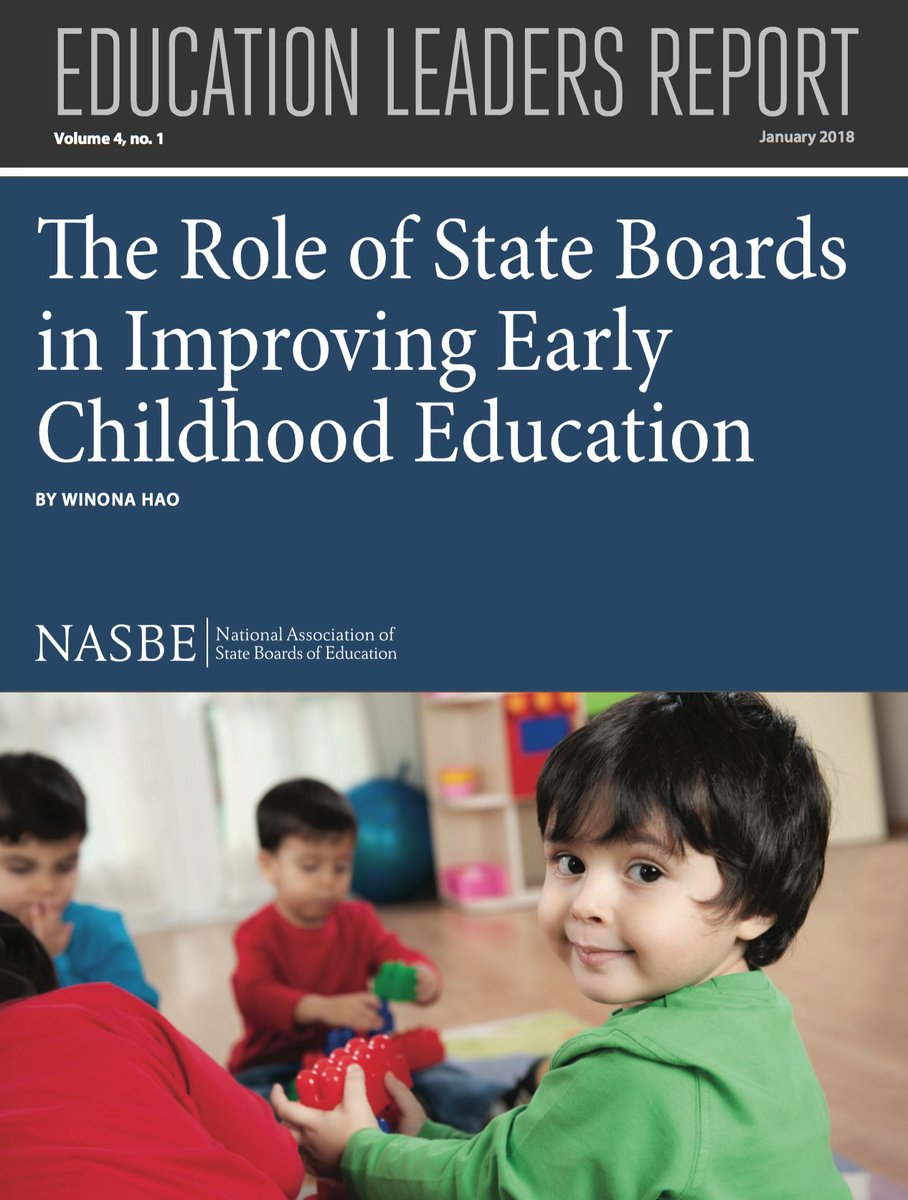 New Report State Of Learning >> Nasbe On Twitter Icymi How Can State Boards Improve Ece Policy