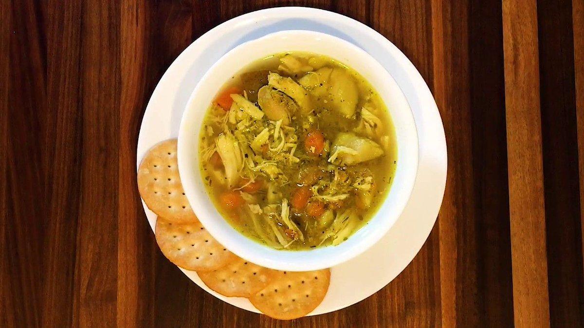 @onehappyhw: Quick Video: Instant Pot Chicken Soup https://t.co/JdDBTIphcw #soup #recipe #instantpot https://t.co/JiLA1CTFiD