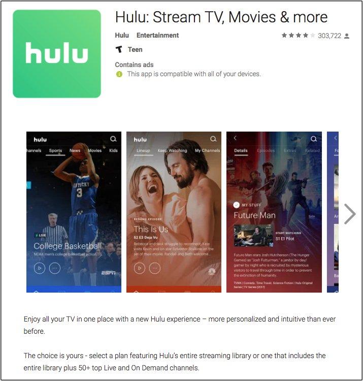 Hulu Support on Twitter: \