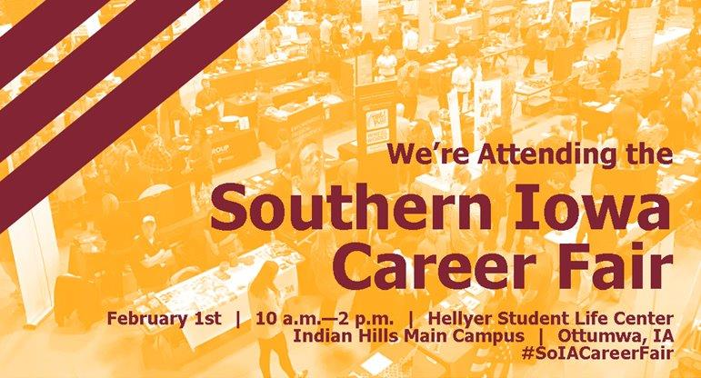 Hey Job Seekers! We'll be at the @indianhills career fair in Ottumwa tomorrow from 10 am - 2 pm. Stop by our booth to learn more about the job opportunities available right NOW in Ames and Story County! #SoIACareerFair <br>http://pic.twitter.com/3Yuz5RT4AE