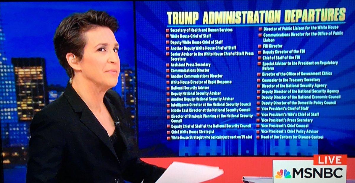 Image result for trump administration departures list