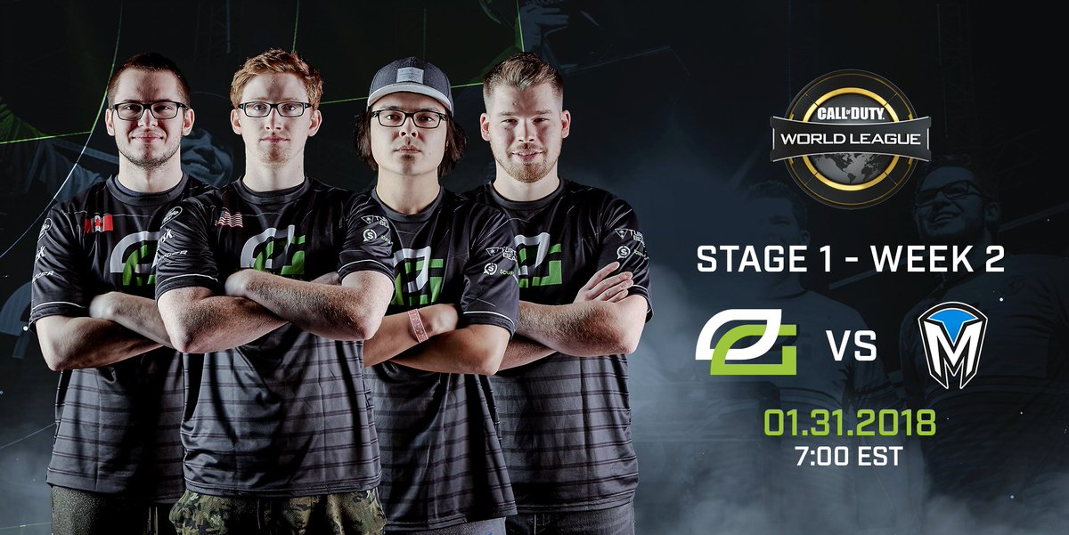 Get settled in to watch #OpTicCoD take up arms in today's CWL Pro League Match! Watch: https://t.co/tR9r30pD0X