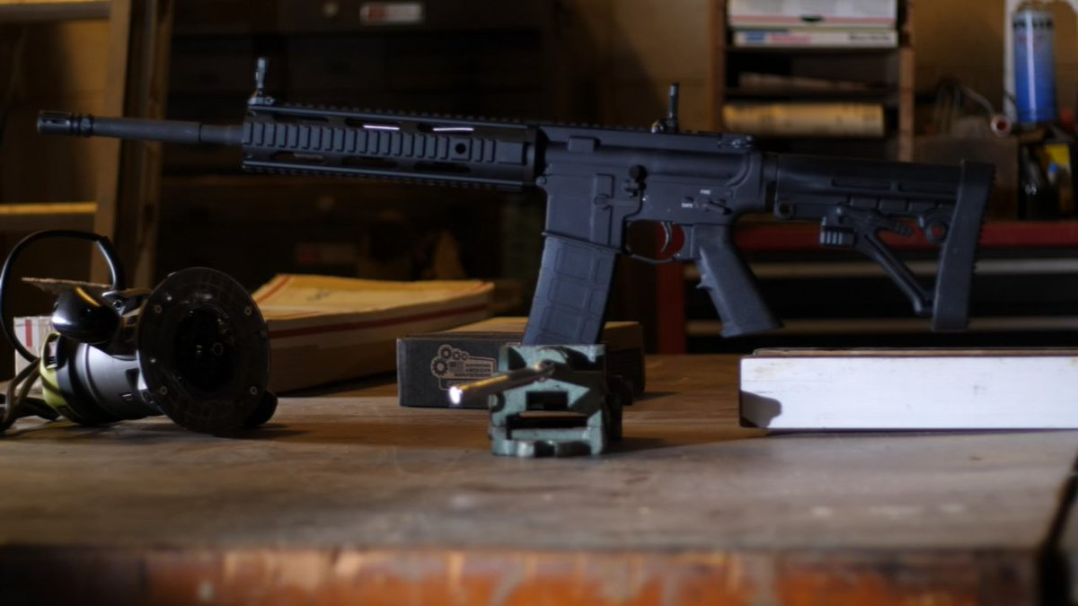 Assault rifle kits are easily found online and there are no
