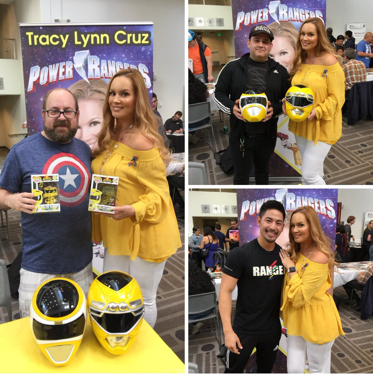 Tracy Lynn Cruz (@TLCYellowRanger) | Twitter  Tracy Lynn Cruz...