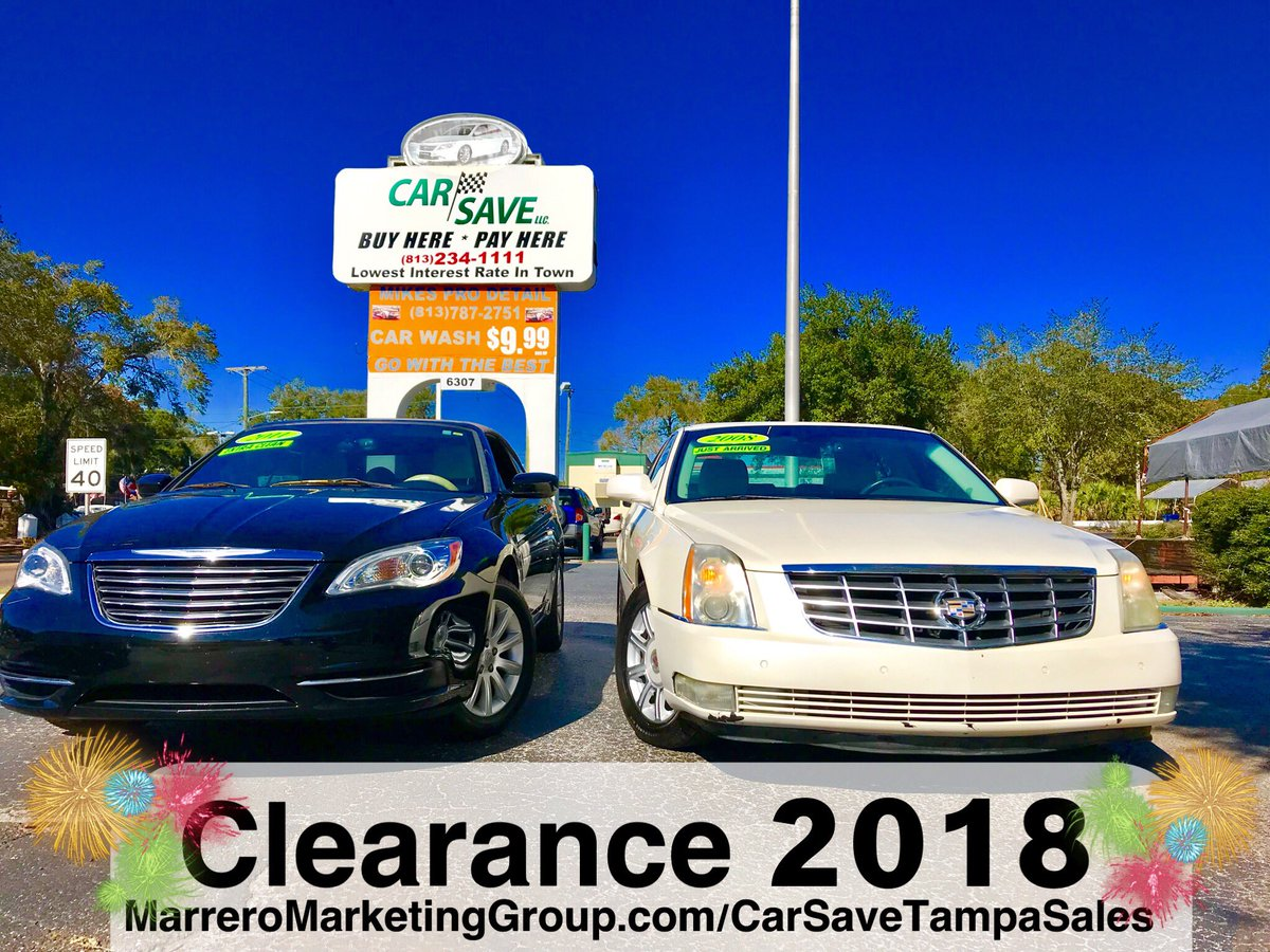 Buy Here Pay Here Tampa >> Car Save Tampa On Twitter 1 Buy Here Pay Here