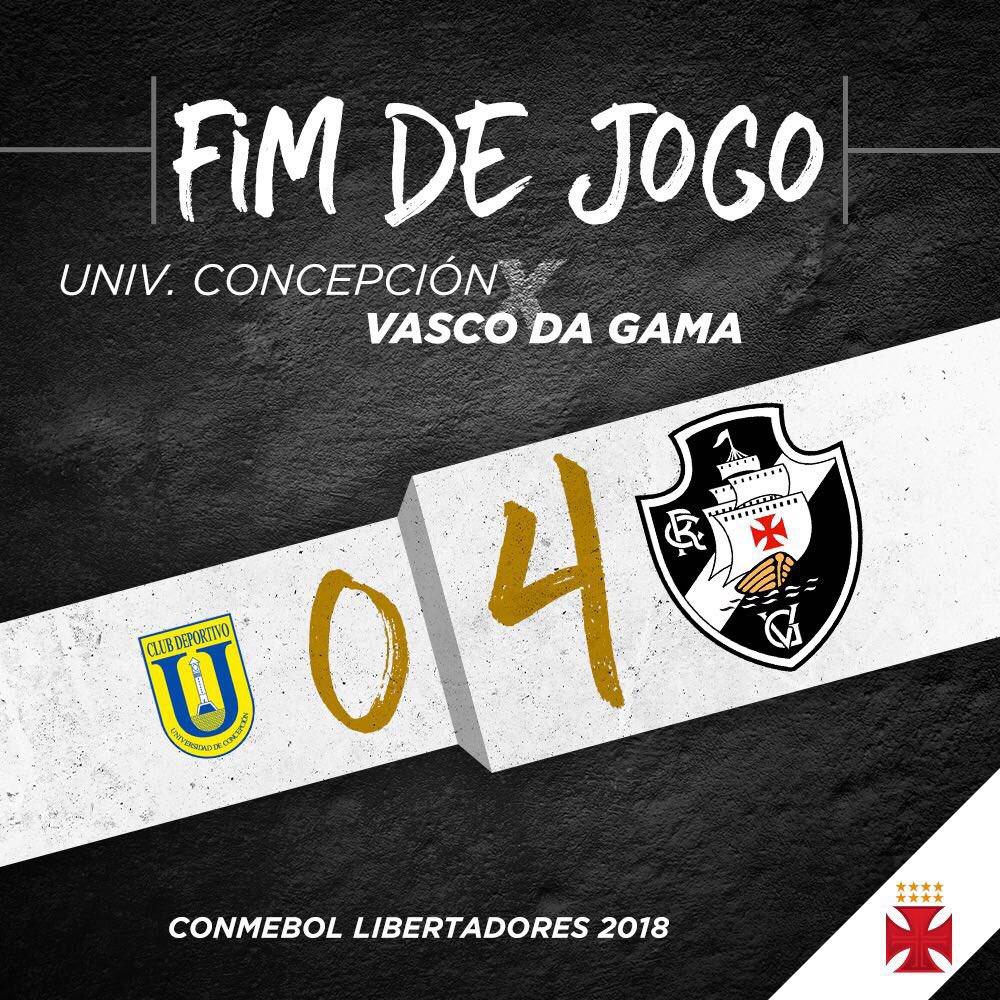 FIM DE JOGO! VITÓRIA GIGANTE DO VASCÃO NA ESTREIA DA LIBERTADORES 2018!   #MissãoLiberta2018 #UDCxVAS