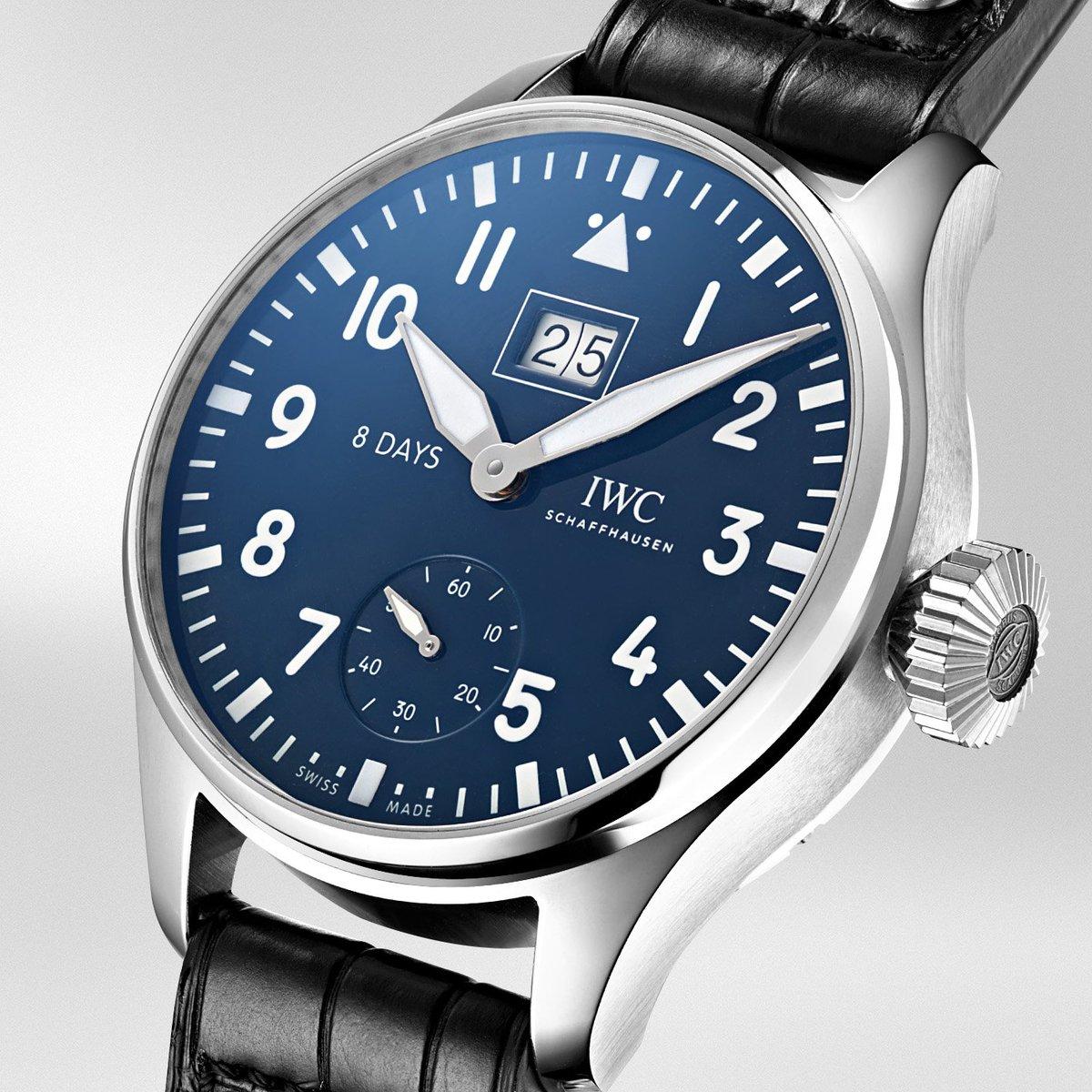 """4b594069c82c ... Gran Reloj de Aviador """"Big Date"""" Edición de """"150 Años"""""""