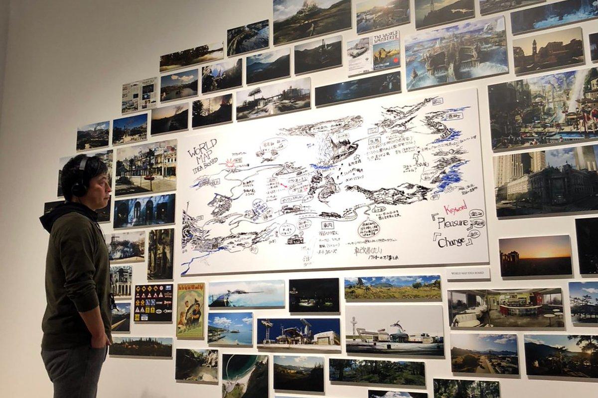 #FF15 ディレクターの田畑が #別れの物語展 を見学中。 これまでの歩みを振り返りつつ、次なる展開に向けて、私たちは進み続けます。
