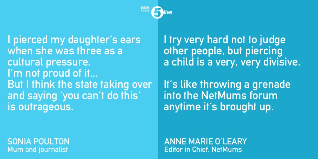 717edd9c1 ... to ban intimate piercings for under 18s. Commentator Sonia Poulton and  @NetMums' Anne Marie O'Leary gave us their thoughts on whether it's a good  idea.