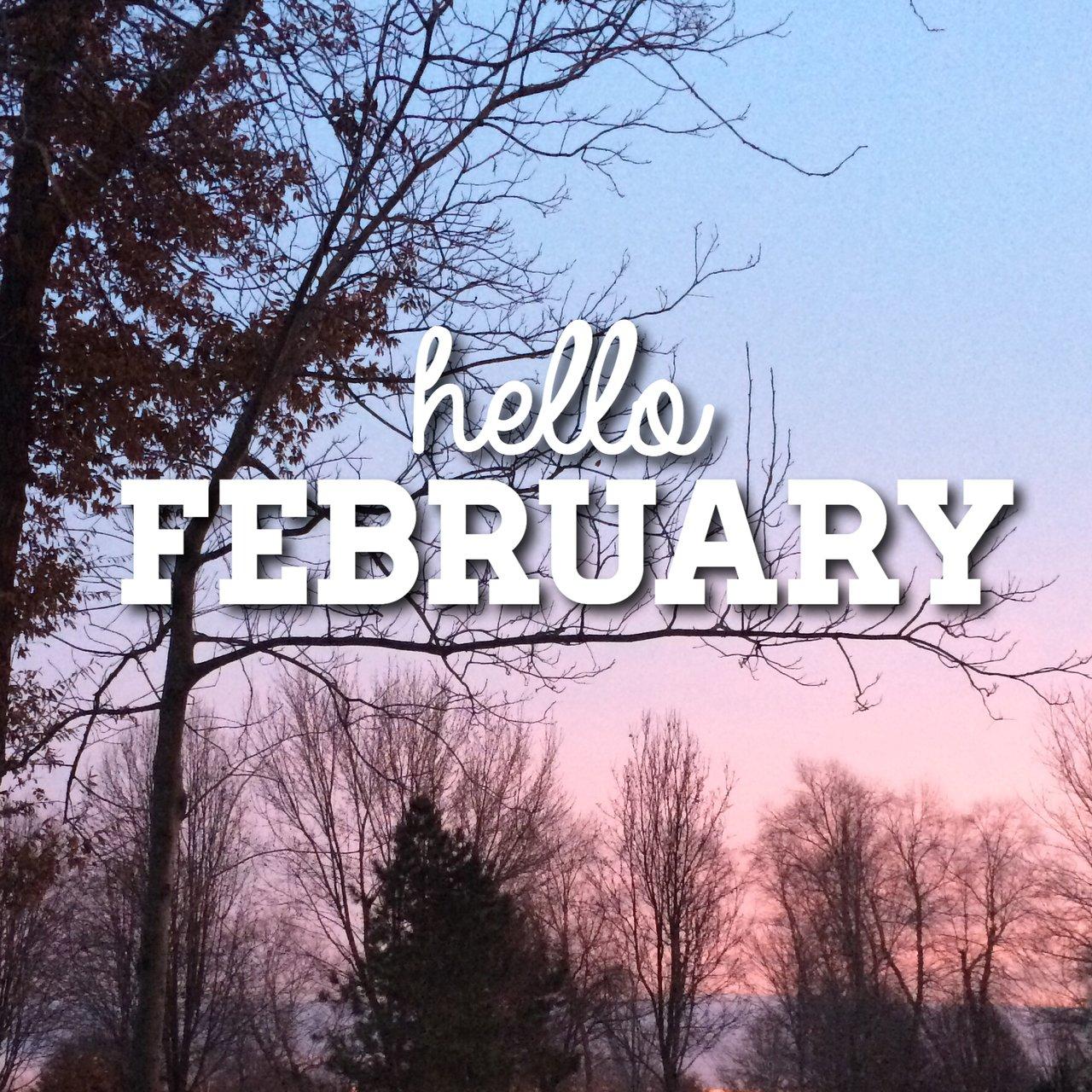 Картинки февраль с надписями
