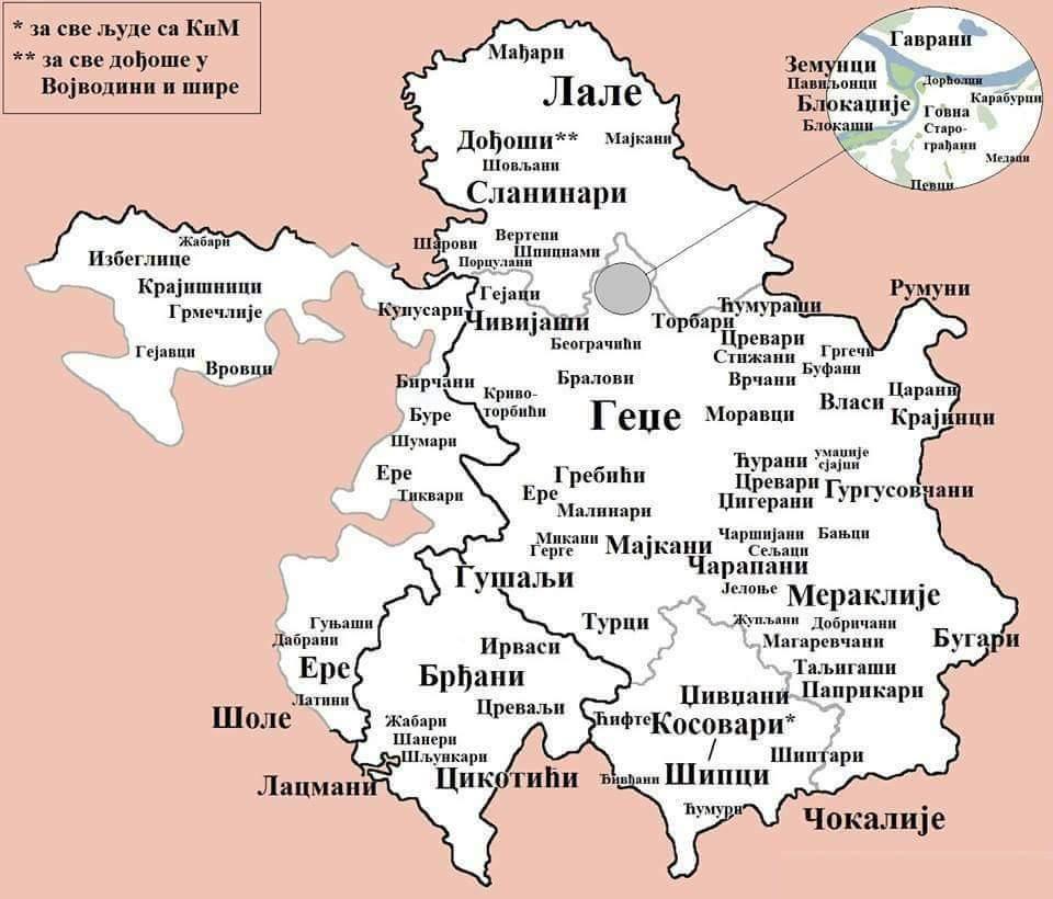 Real Sa Nisave On Twitter Mapa Nadimaka Po Gradovima I Krajevima