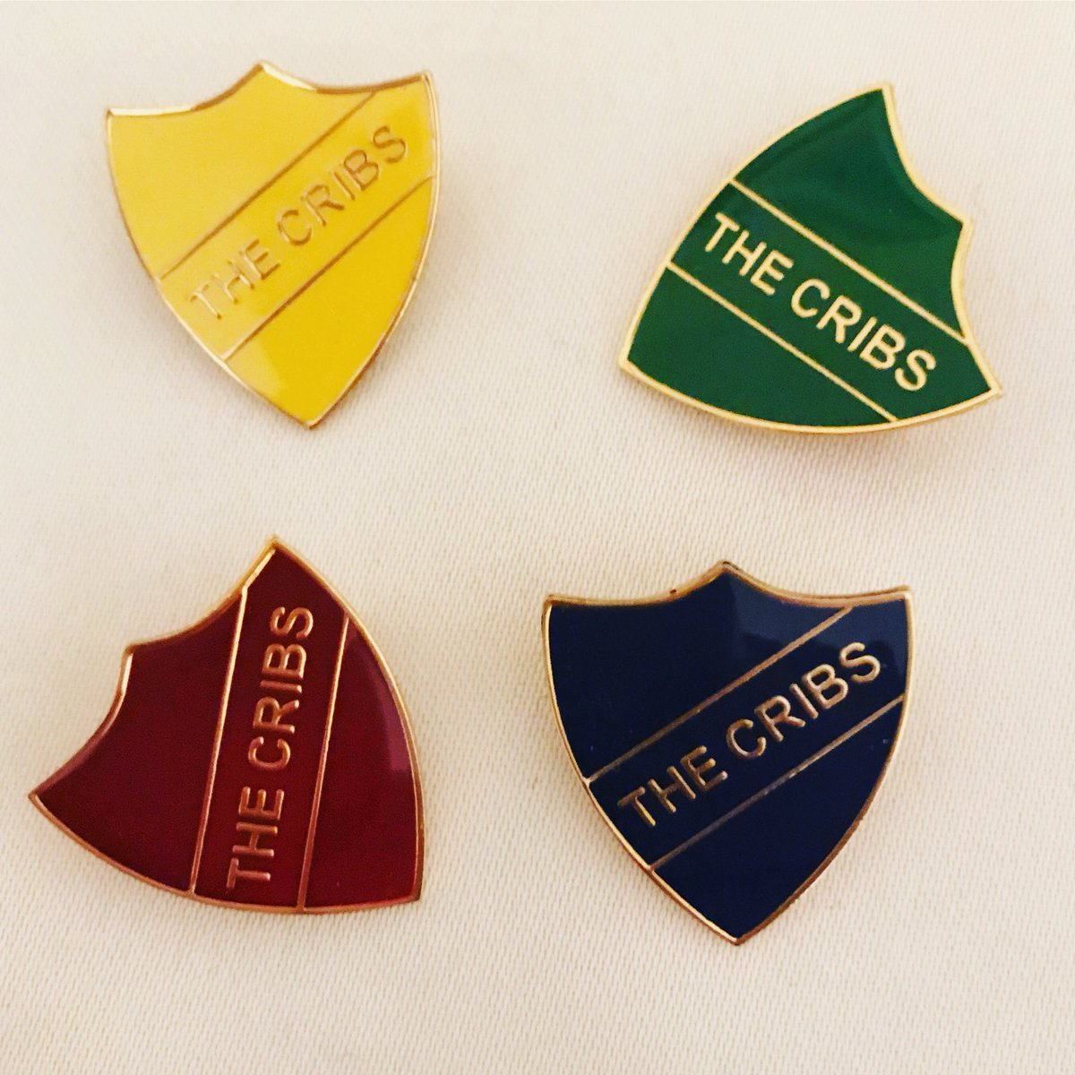The Cribs A Twitter Tbt Who Had One Of These On Their Jacket Bag