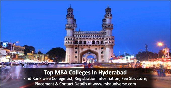 #MBAUniverse provides a list of Top #MBACollegesInHyderabad with detailed information for you to pursue your studies. Get colleges brochure, read questions and student reviews. Compare colleges on #fees, #eligibility, #placements and #rank  http://www.mbauniverse.com/college/hyderabadmba.php…