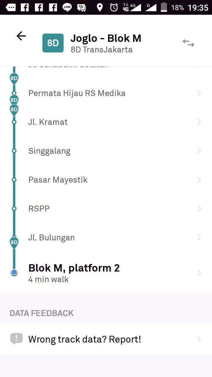 Halo Pt Transjakarta Mbokya Kalo Ngasih Info Perubahan Naik Turun