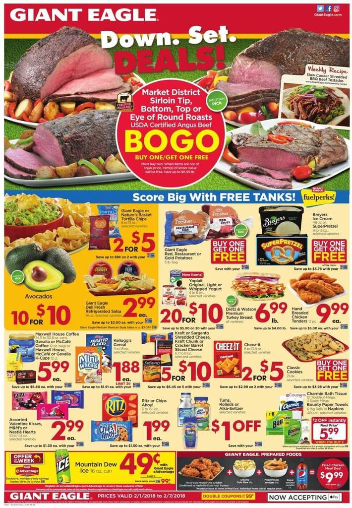 giant eagle weekly sales ad