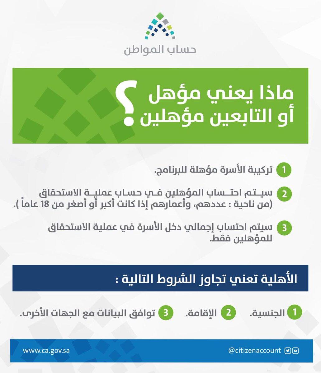 هنا  مستحقي دعم برنامج حساب المواطن السعودي 1439 ورابط بوابه المواطن الالكترونية 2 13/2/2018 - 2:20 ص