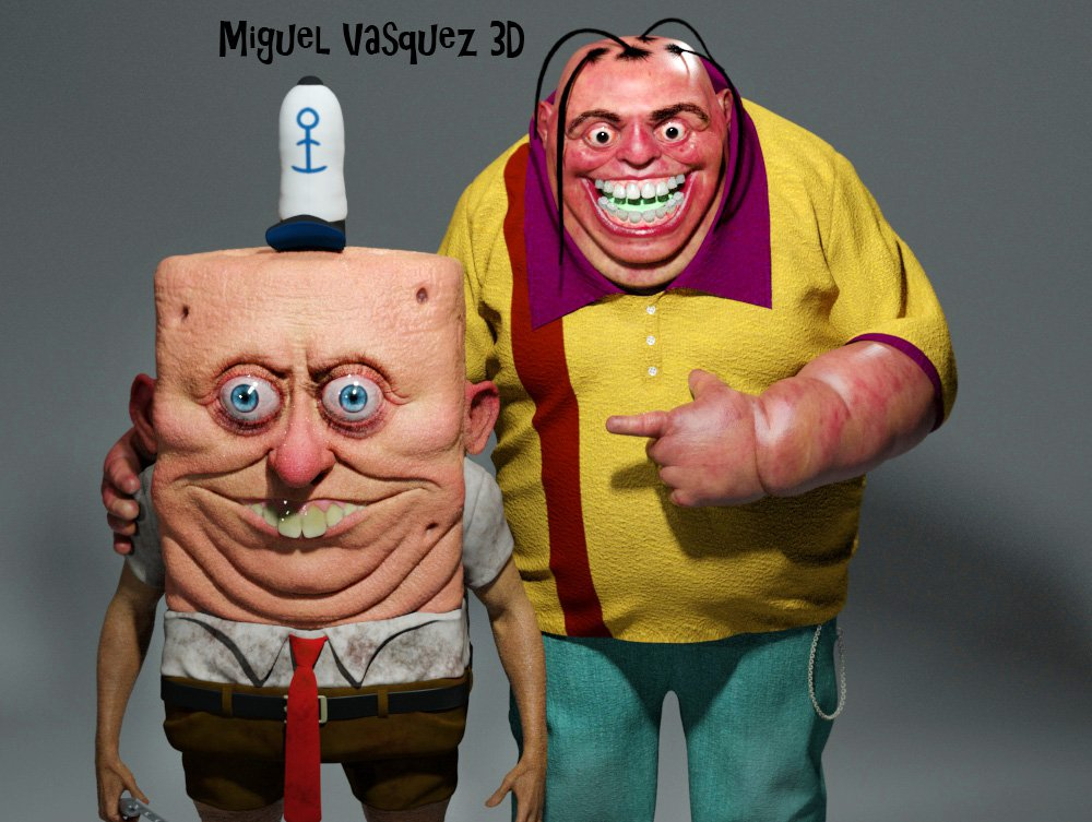 Miguel Vasquez On Twitter Two Of My Favorite Cartoon Characters