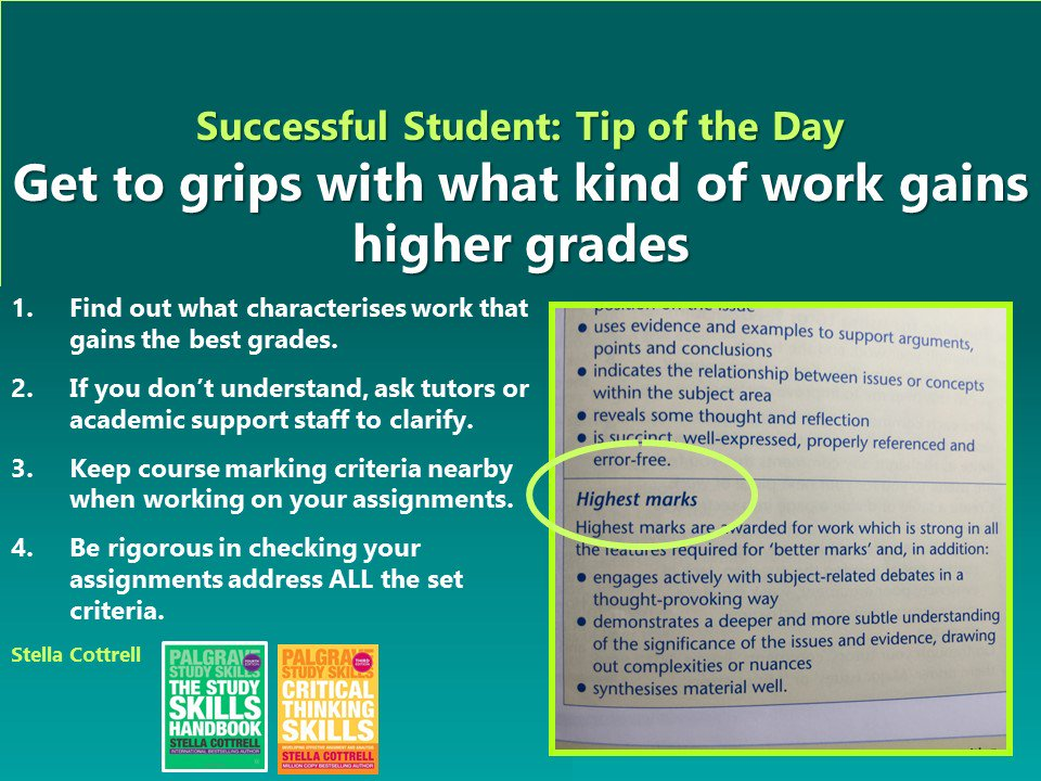 the pressure on students to get good grades essay Paying students to get good grades doesn't have any effect if they have no idea about how to get good grades paying them to attend class or to read books.